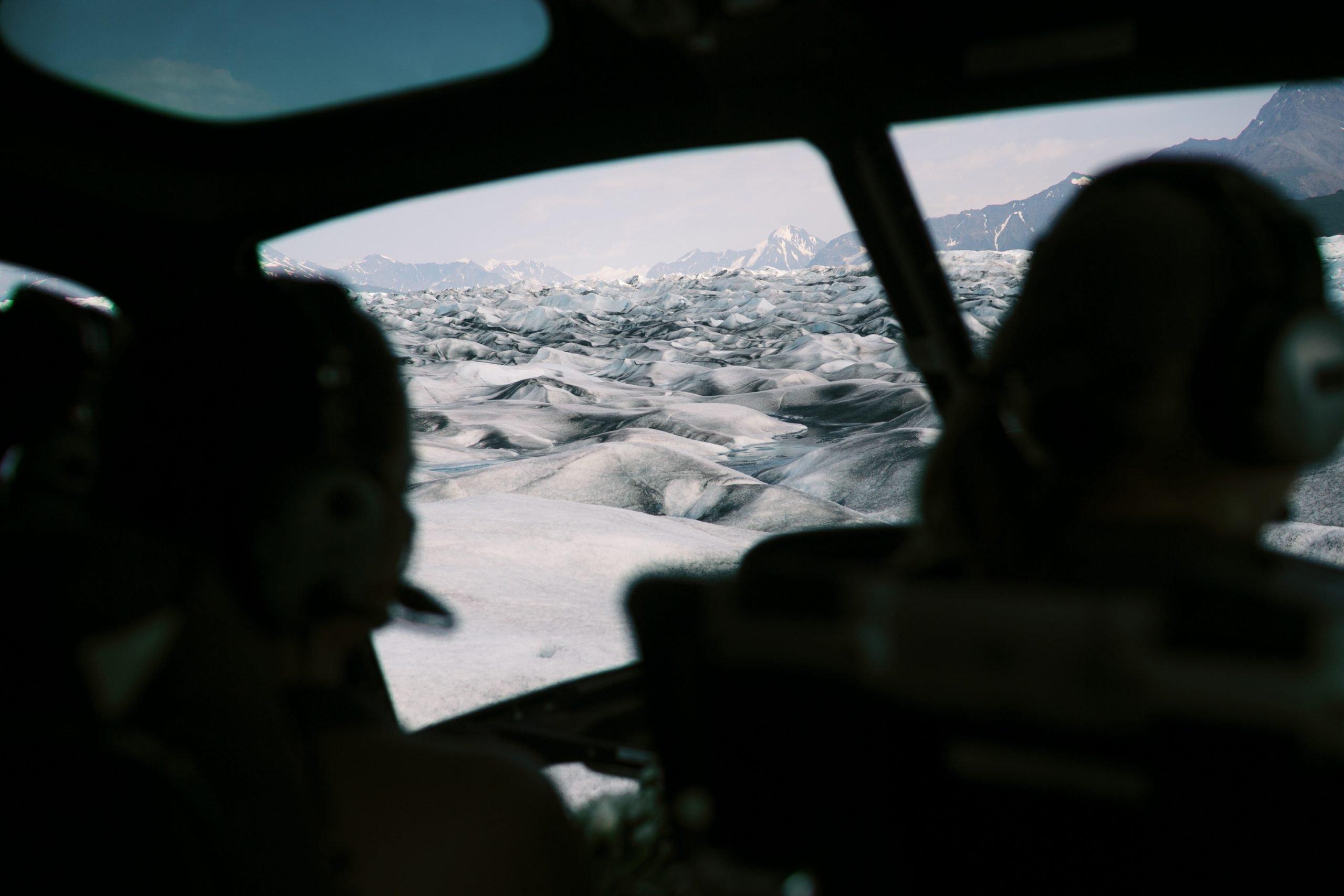 Alaska Glacier Wedding Helicopter Tour