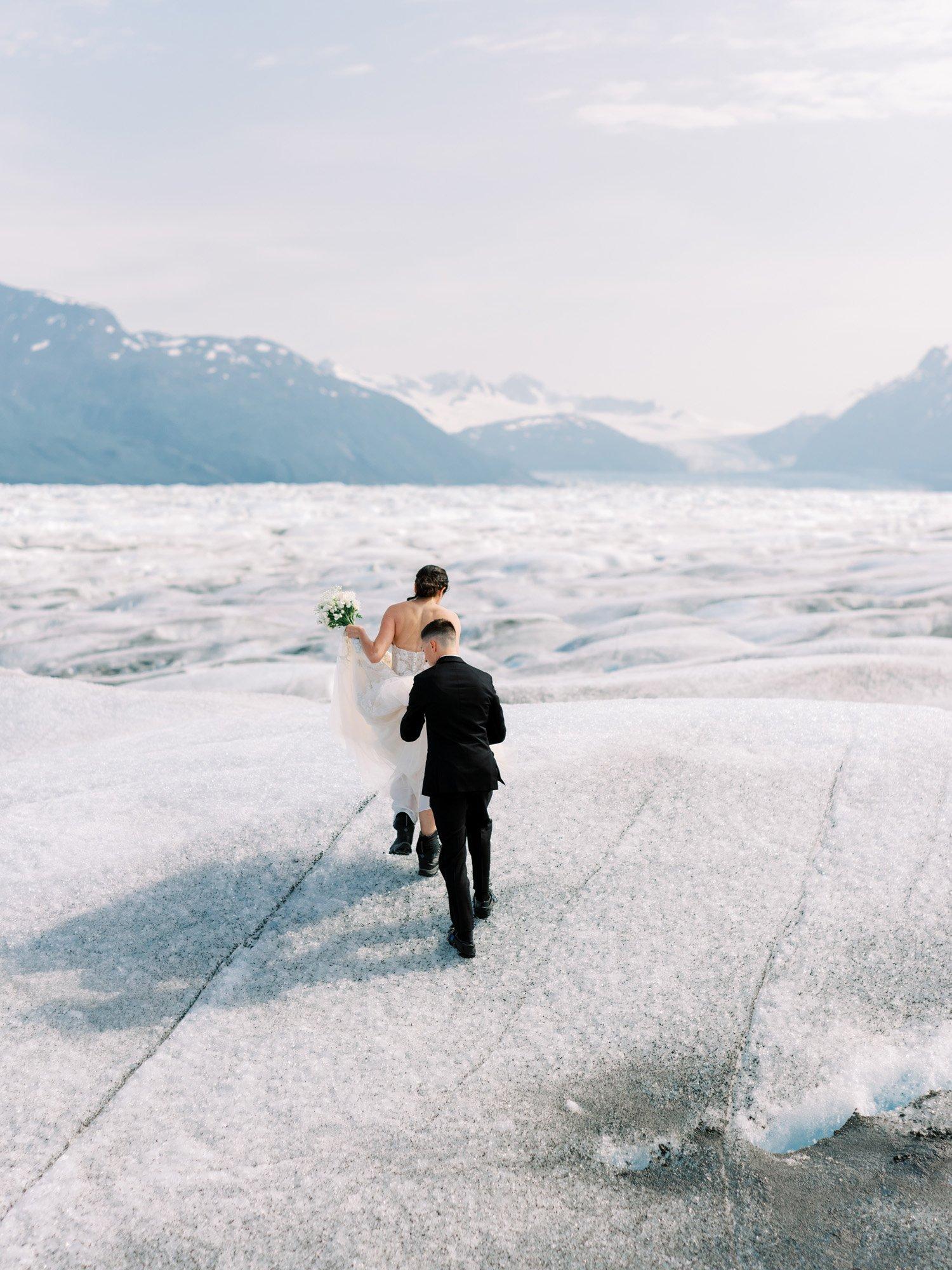 Glacier Wedding Alaska