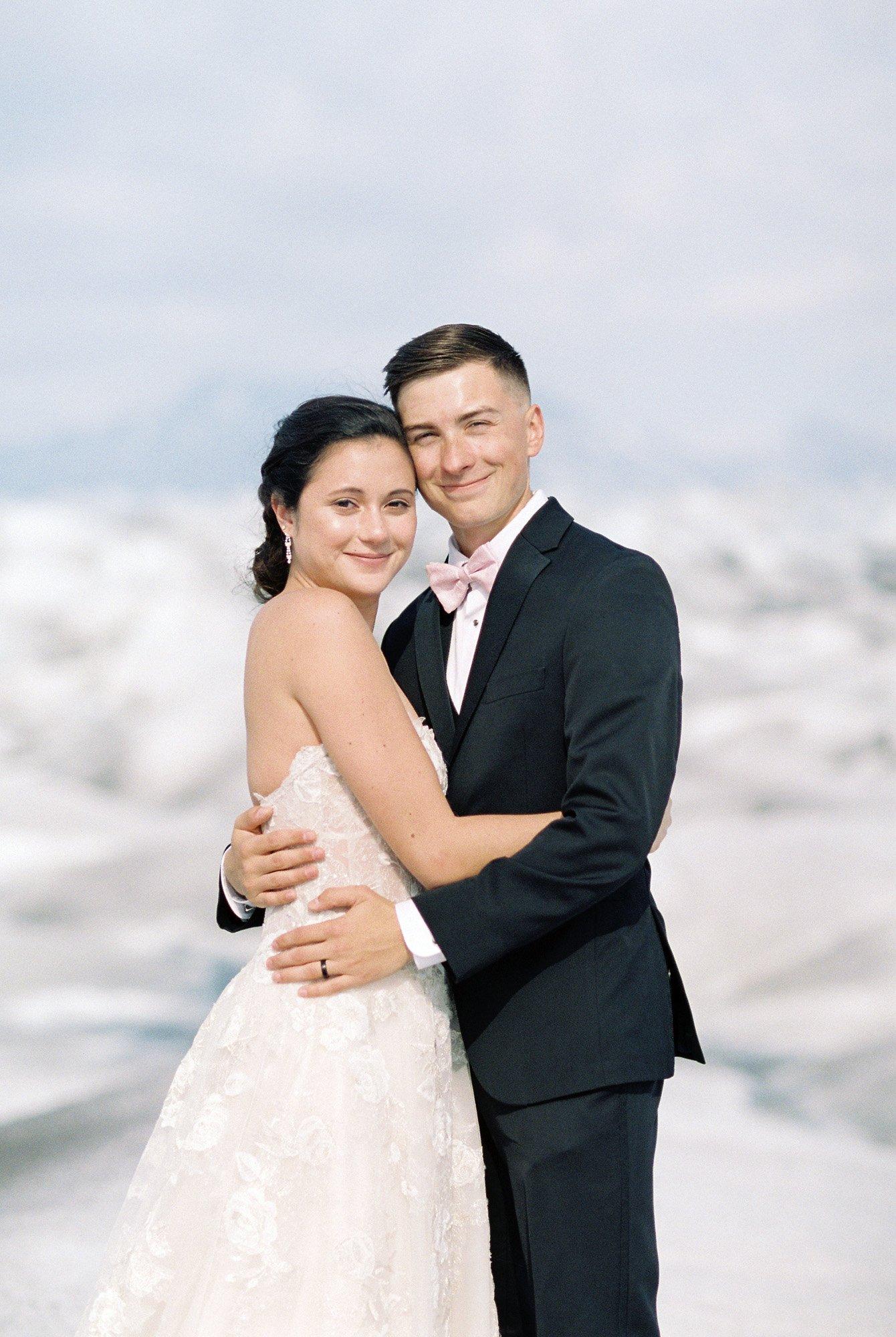 Alaska Glacier Wedding